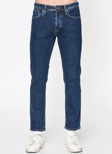 Jack & Jones Jack & Jones Blue Denim Erkek Jean Pantolon Mavi